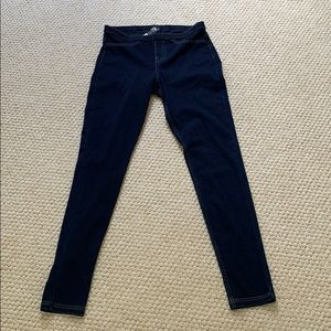 NWT HUE Blue Jeggings - Size Small